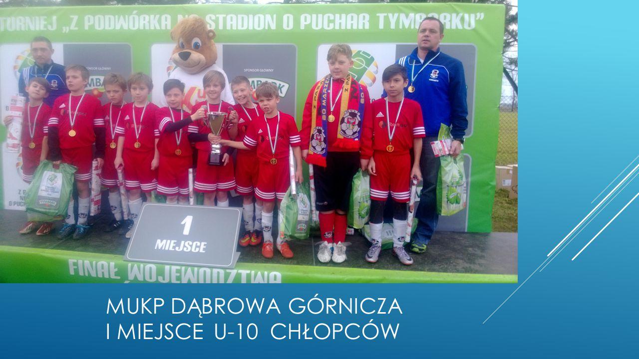 MUKP Dąbrowa górnicza I miejsce u-10 chłopców