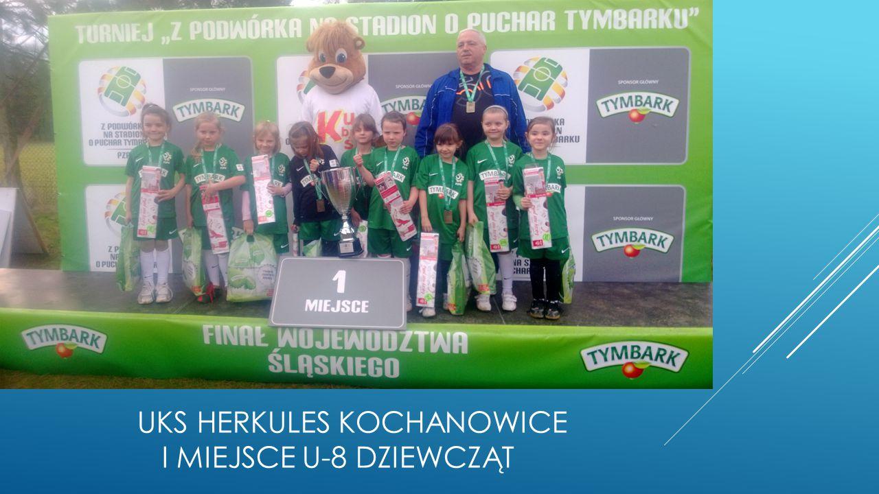 Uks herkules Kochanowice i miejsce u-8 dziewcząt
