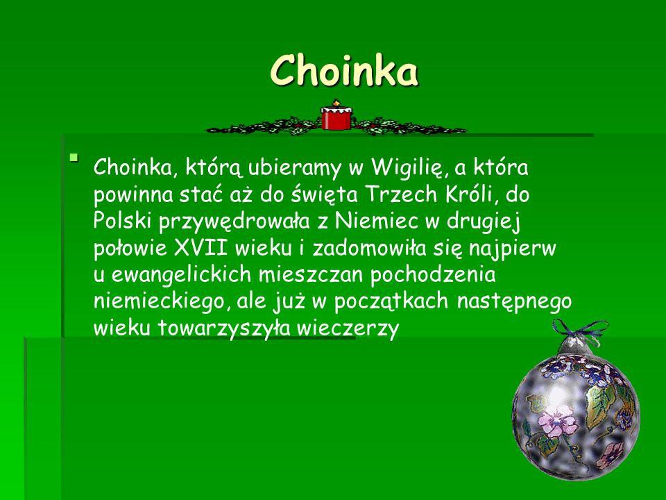 Choinka .