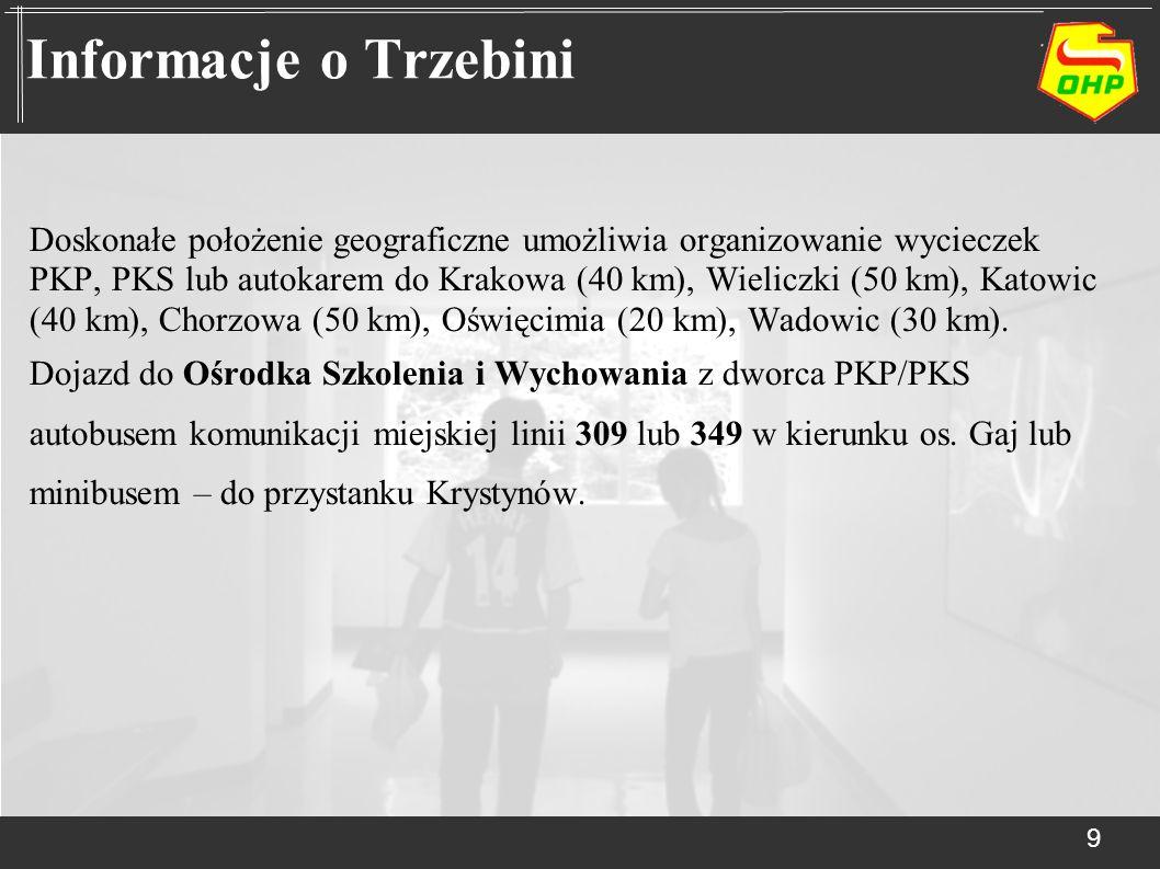 Informacje o Trzebini