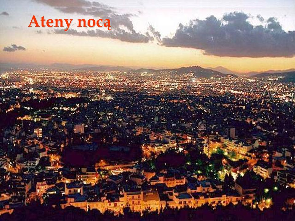 Ateny nocą