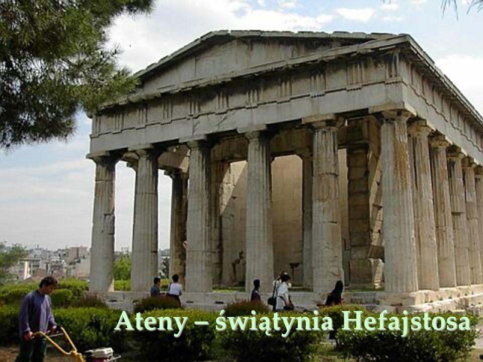Ateny – świątynia Hefajstosa