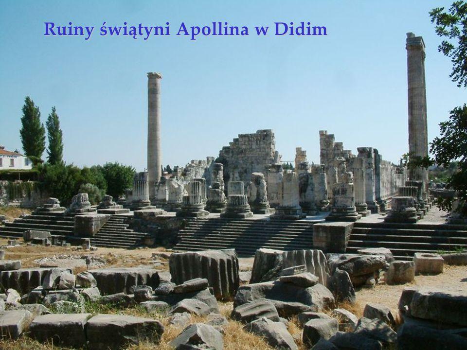 Ruiny świątyni Apollina w Didim