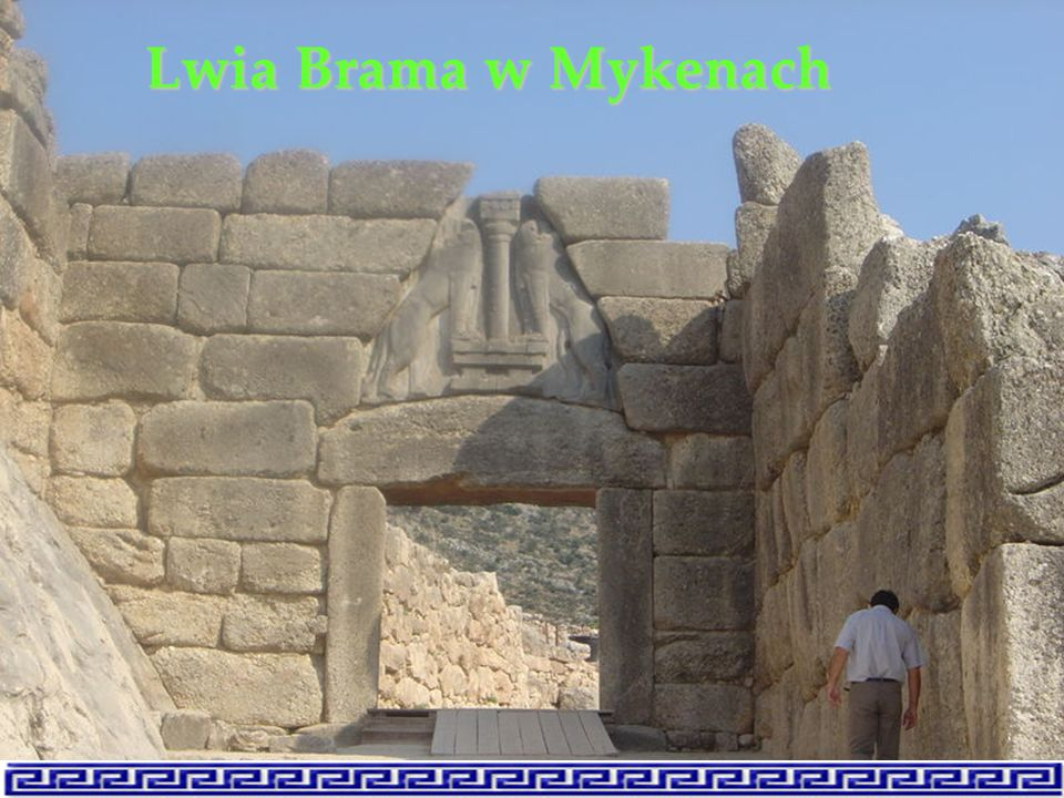 Lwia Brama w Mykenach