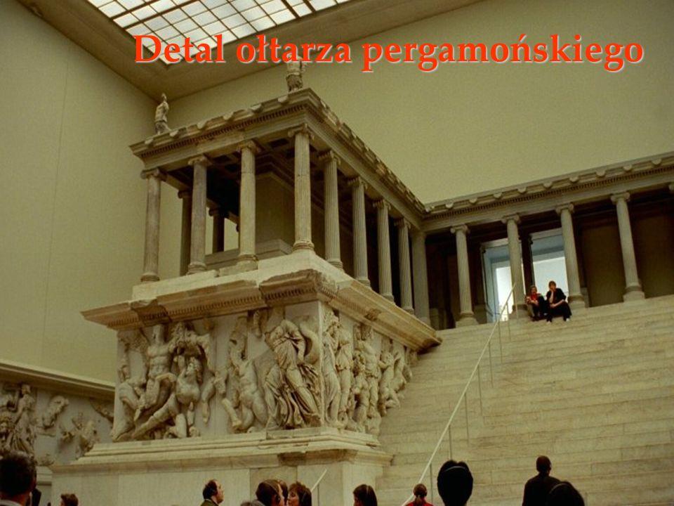 Detal ołtarza pergamońskiego