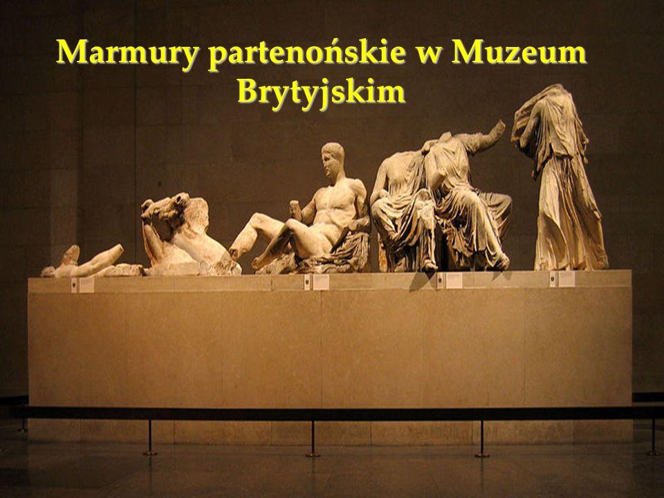 Marmury partenońskie w Muzeum Brytyjskim