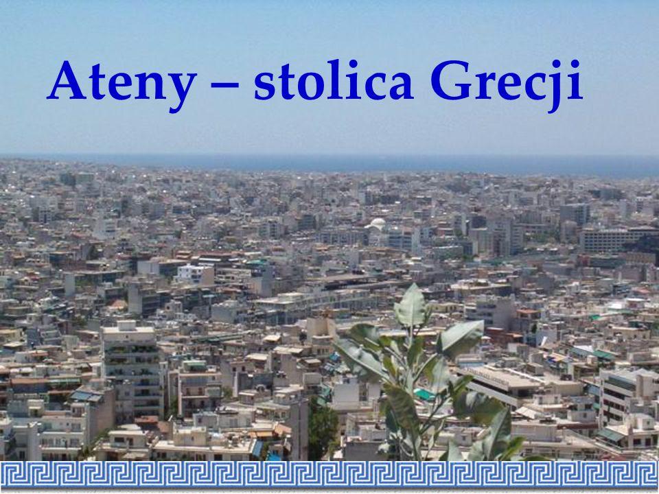 Ateny – stolica Grecji