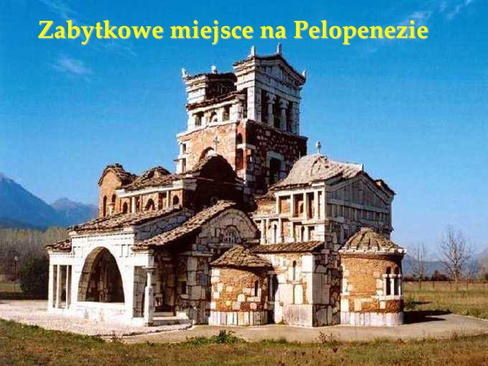 Zabytkowe miejsce na Pelopenezie