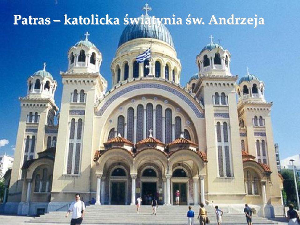 Patras – katolicka świątynia św. Andrzeja