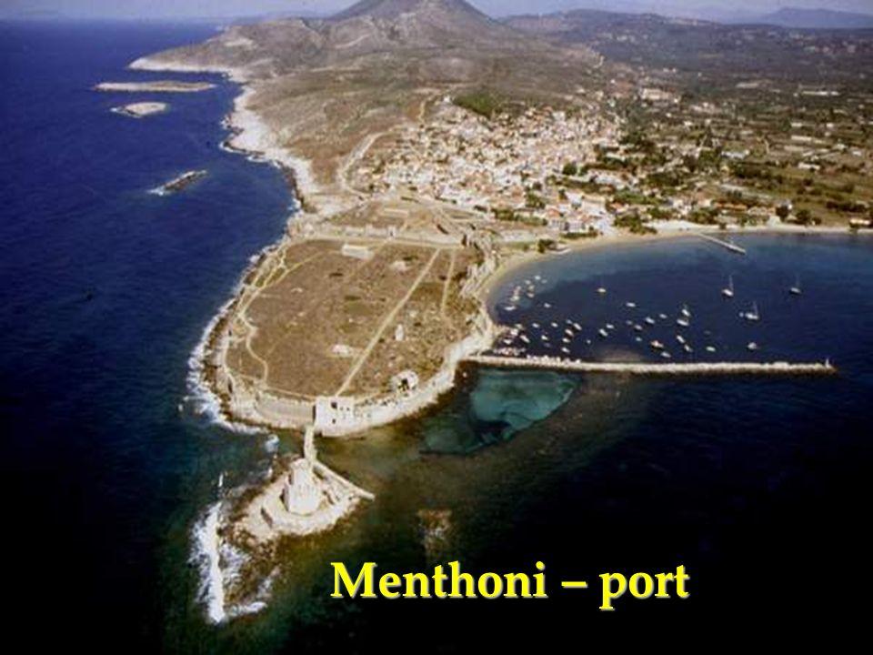 Menthoni – port