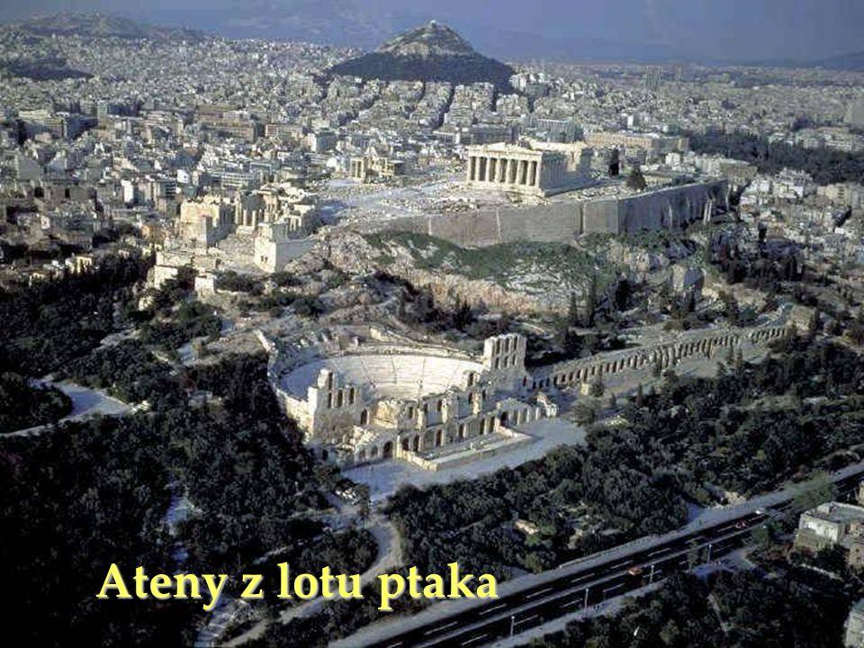 Ateny z lotu ptaka