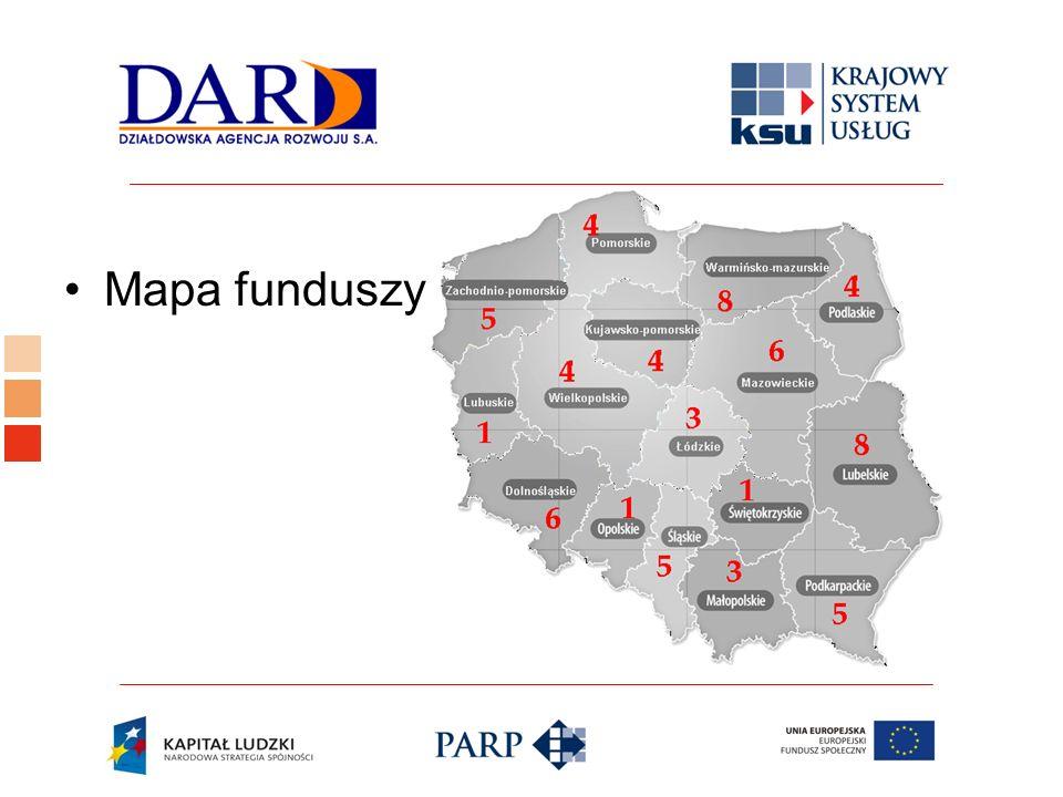 Mapa funduszy