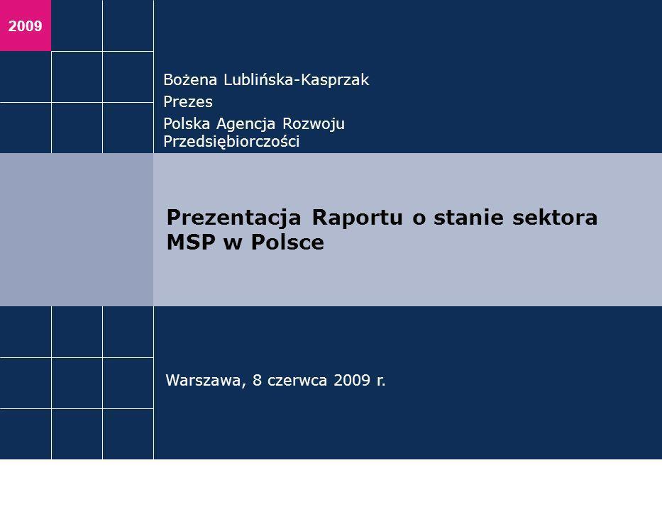 Prezentacja Raportu o stanie sektora MSP w Polsce