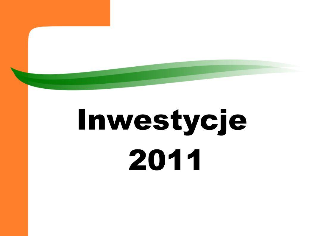Inwestycje 2011