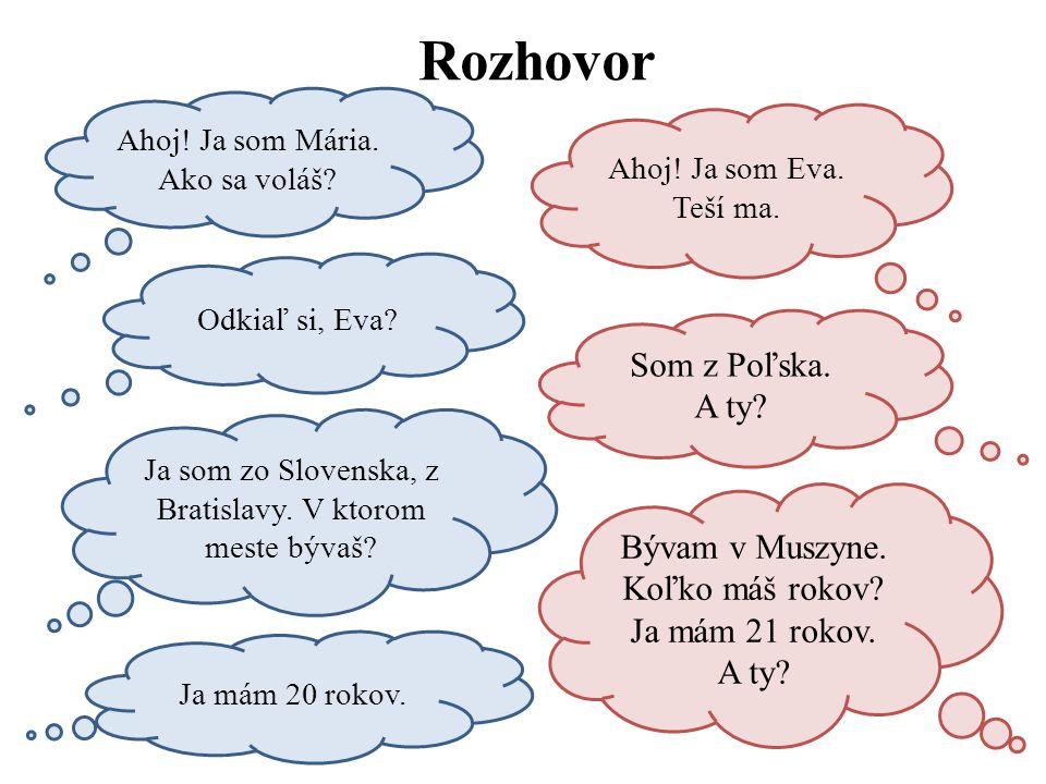 Rozhovor Som z Poľska. A ty