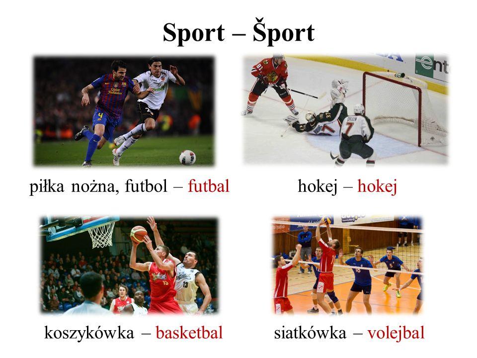 Sport – Šport piłka nożna, futbol – futbal hokej – hokej