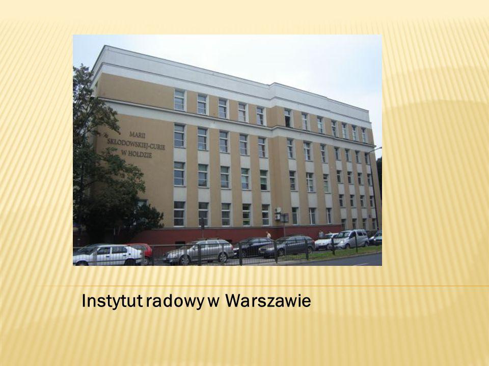 Instytut radowy w Warszawie