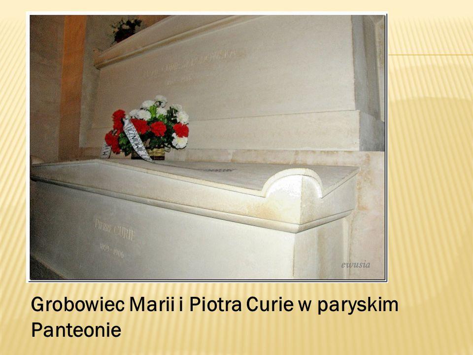 Grobowiec Marii i Piotra Curie w paryskim Panteonie