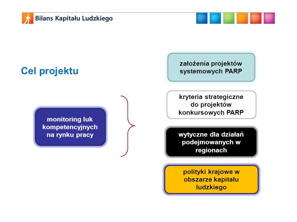 Cel projektu założenia projektów systemowych PARP