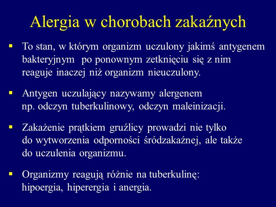 Alergia w chorobach zakaźnych