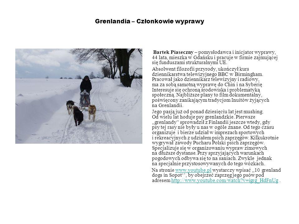 Grenlandia – Członkowie wyprawy