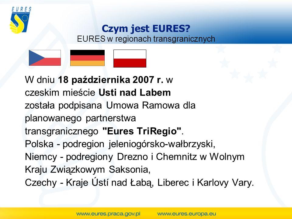 Czym jest EURES EURES w regionach transgranicznych