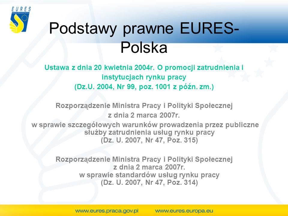 Podstawy prawne EURES-Polska