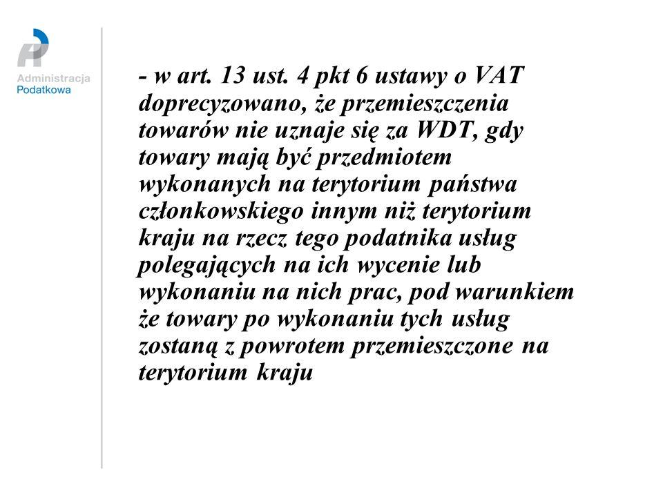 - w art. 13 ust.