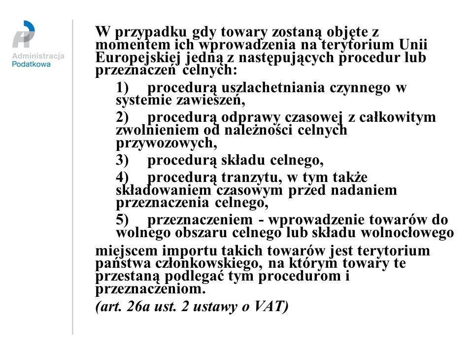 1) procedurą uszlachetniania czynnego w systemie zawieszeń,