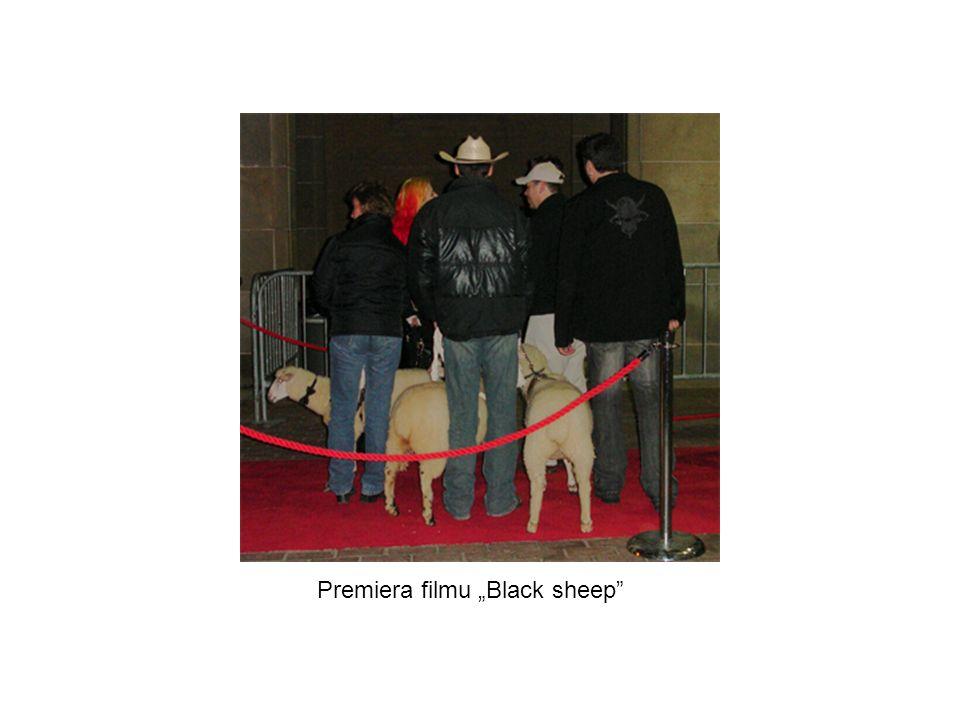 "Premiera filmu ""Black sheep"