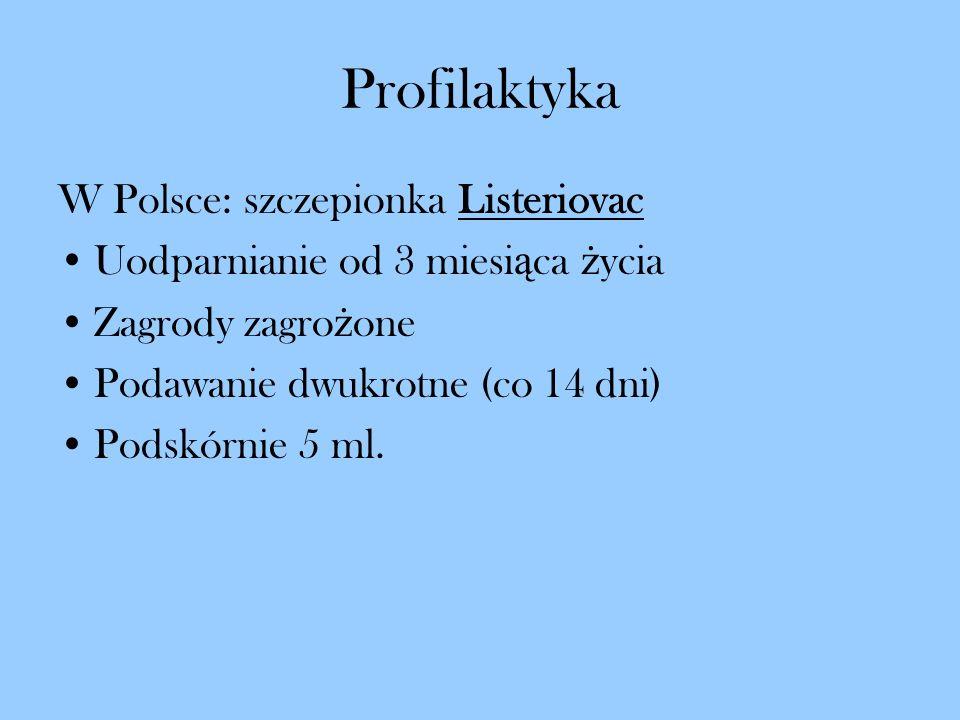 Profilaktyka W Polsce: szczepionka Listeriovac