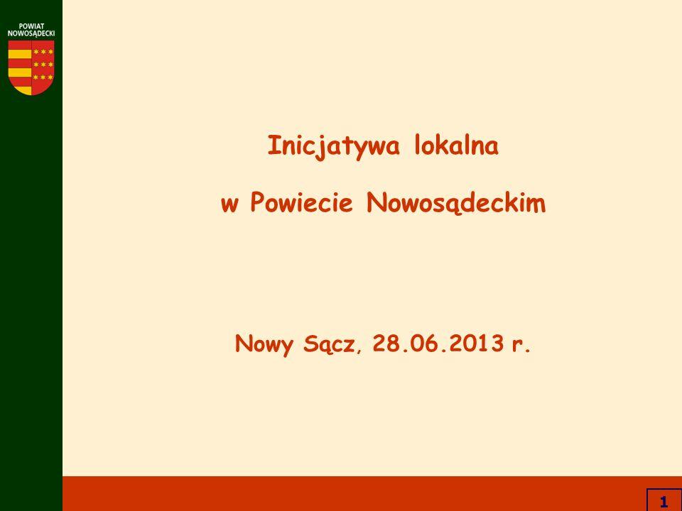 w Powiecie Nowosądeckim Nowy Sącz, 28.06.2013 r.