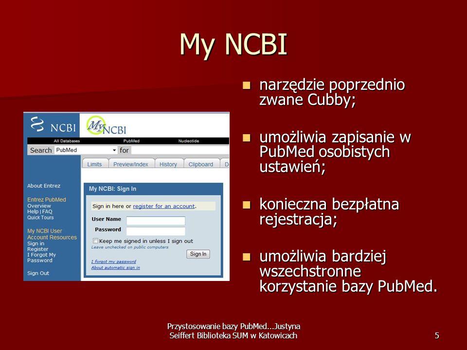 My NCBI narzędzie poprzednio zwane Cubby;