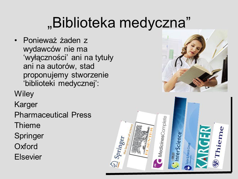 """""""Biblioteka medyczna"""