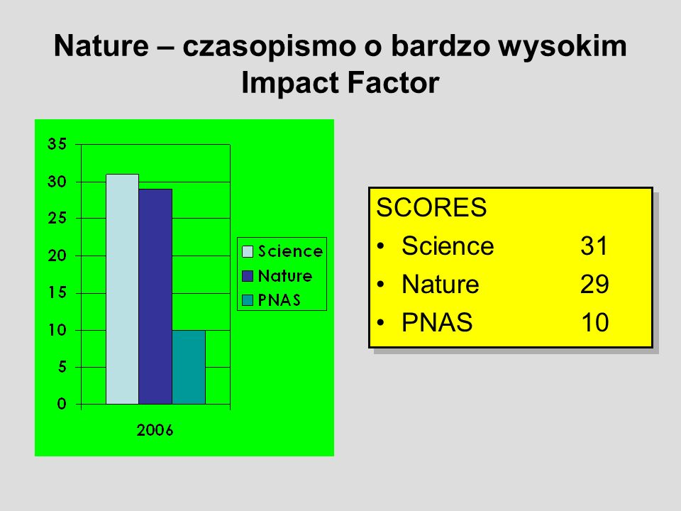 impact factor Not all journals have impact factors, and impact factors are not the only indicator of quality in addition, impact factors vary greatly between subject areas/disciplines.