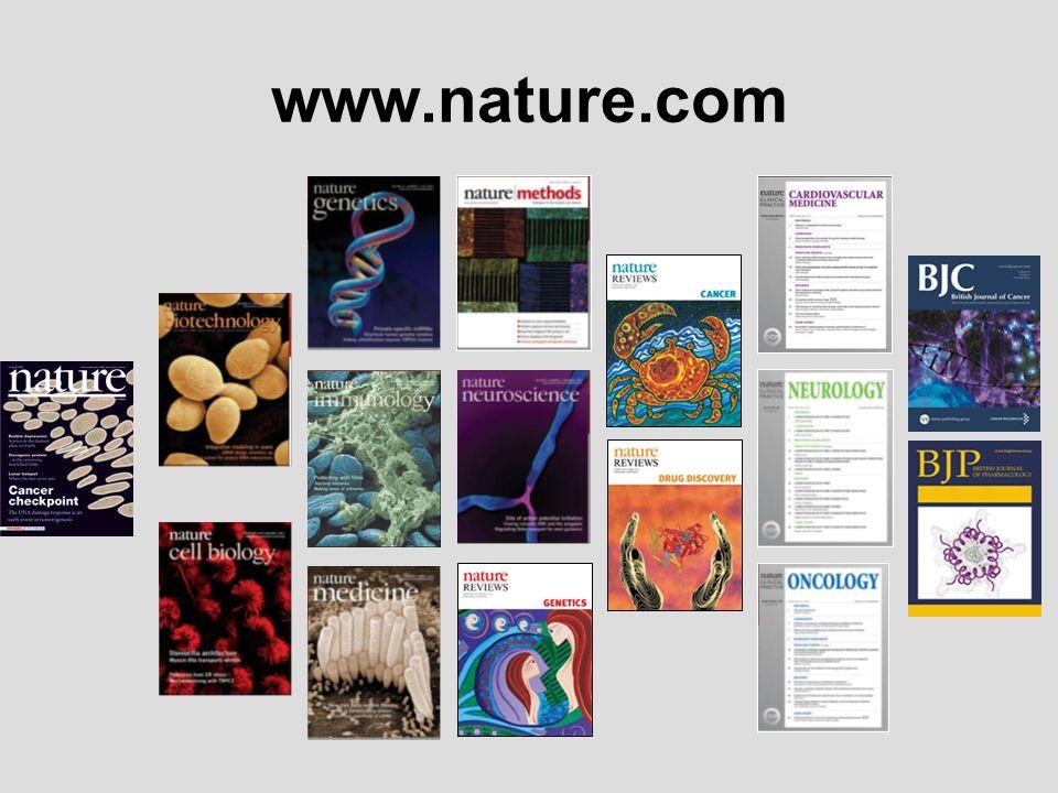www.nature.com Nature.