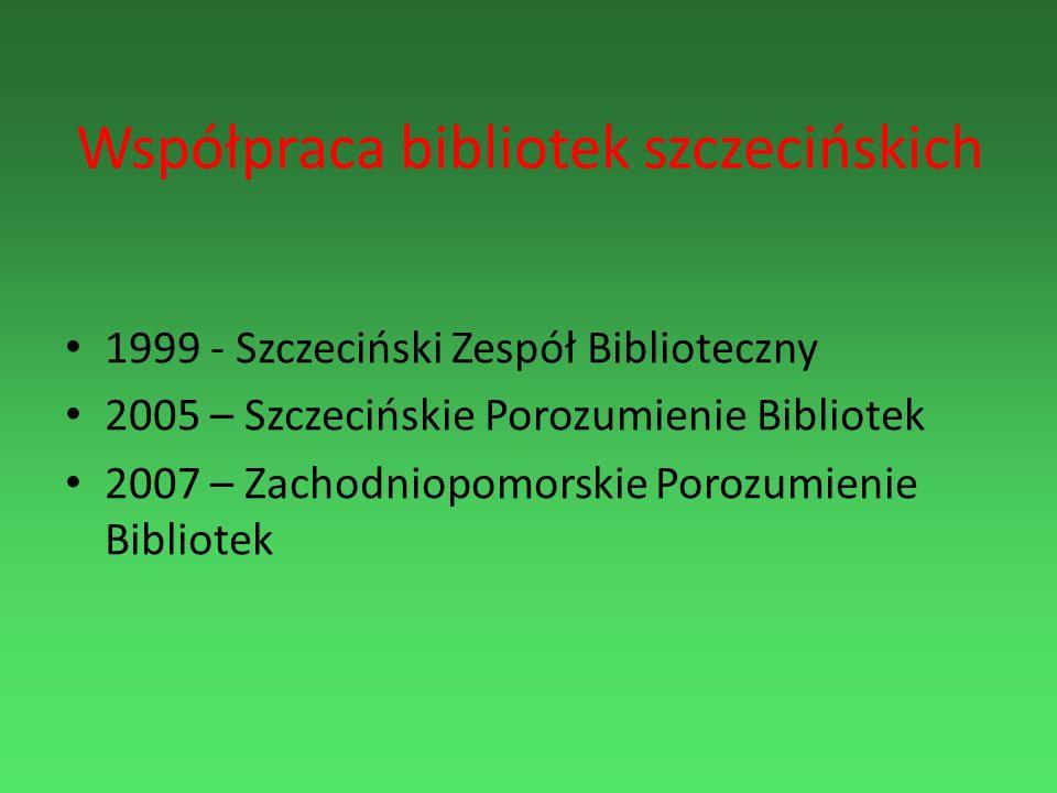 Współpraca bibliotek szczecińskich