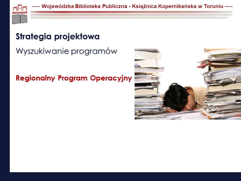 Strategia projektowa Wyszukiwanie programów