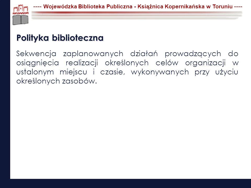Polityka biblioteczna