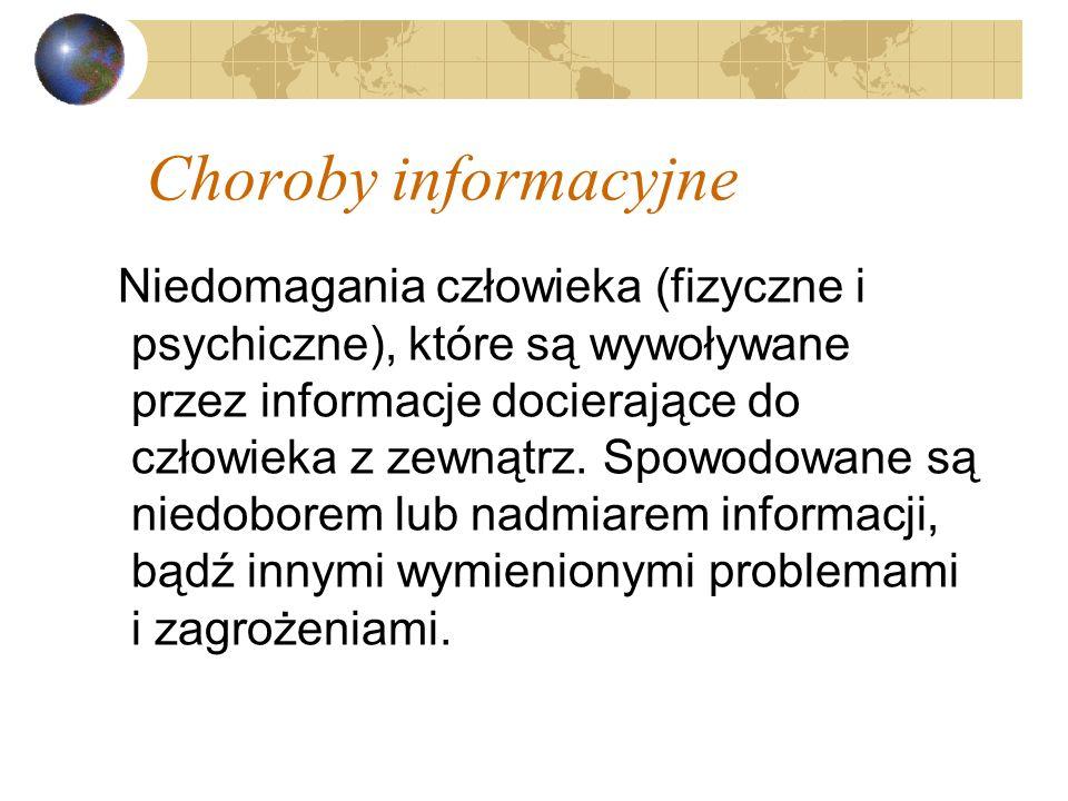 Choroby informacyjne