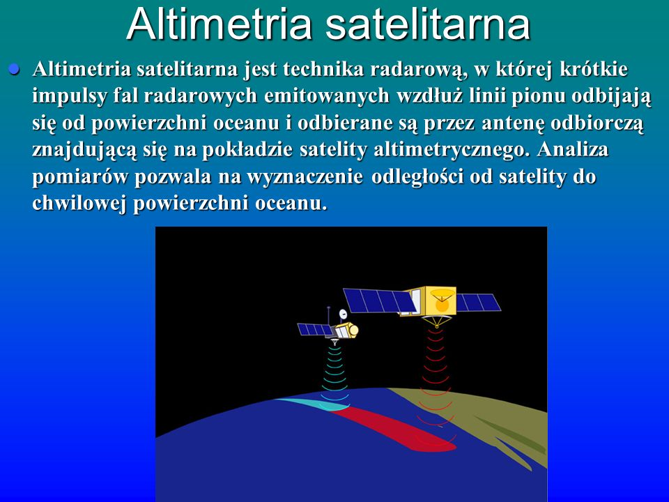 Altimetria satelitarna