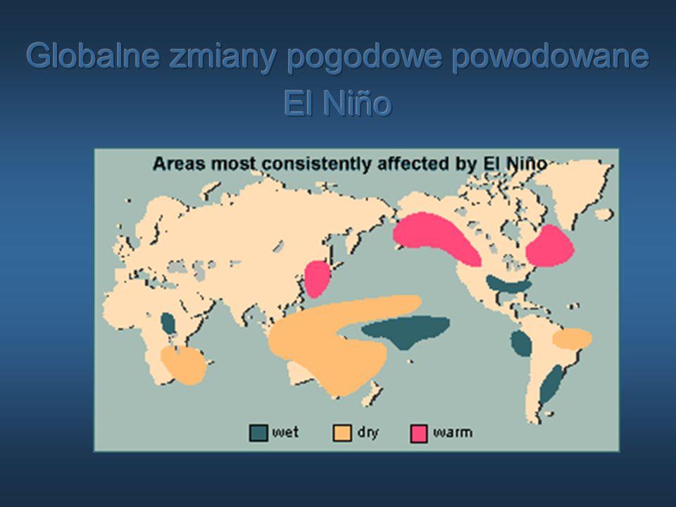 Globalne zmiany pogodowe powodowane El Niño