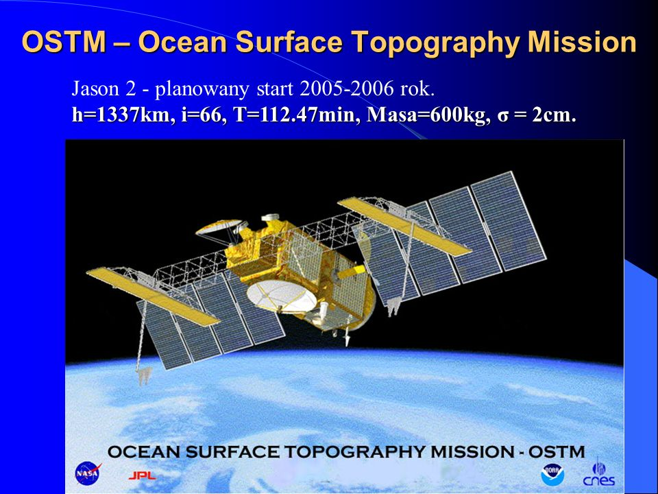 OSTM – Ocean Surface Topography Mission