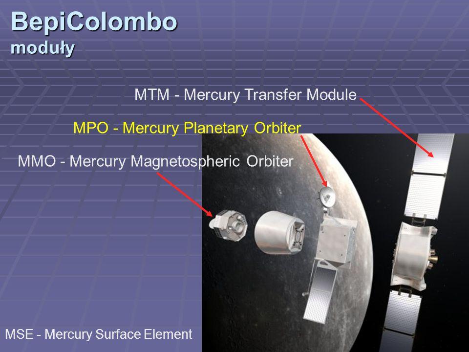 BepiColombo moduły MTM - Mercury Transfer Module