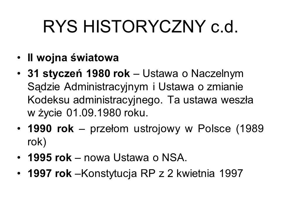 RYS HISTORYCZNY c.d. II wojna światowa