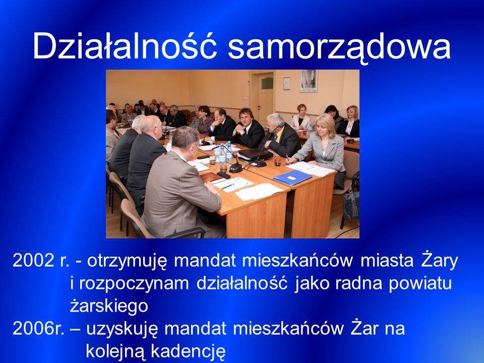Działalność samorządowa