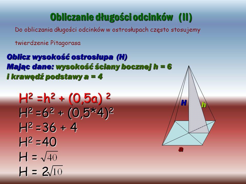 Obliczanie długości odcinków (II)