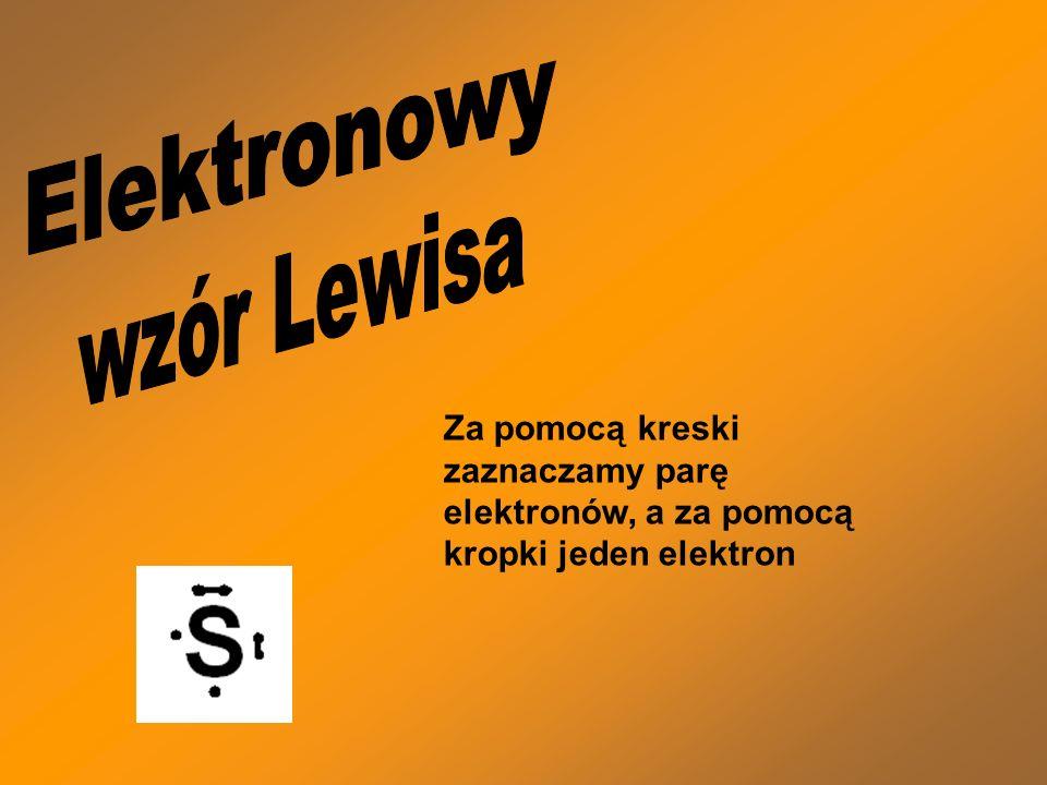 Elektronowy wzór Lewisa