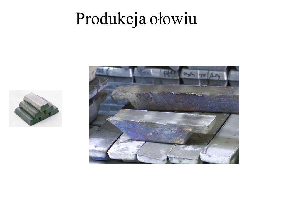Produkcja ołowiu