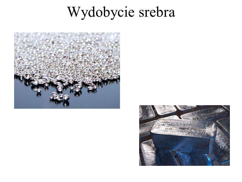 Wydobycie srebra